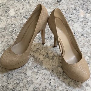 Cream Aldo Pumps